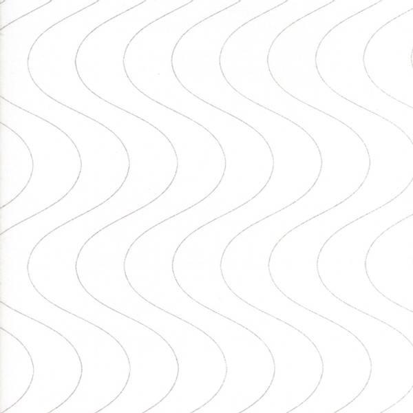 Bilde av Thrive - grå bølger på offwhite, 1-2 cm avstand