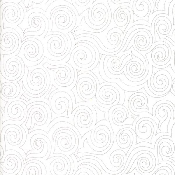 Bilde av 45 cm Thrive - grå sirkelmønster på offwhite, 2-5 mm avstand