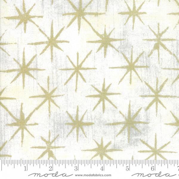 Bilde av Grunge - Seeing Stars metallic - 3 cm gull stjerner på hvit