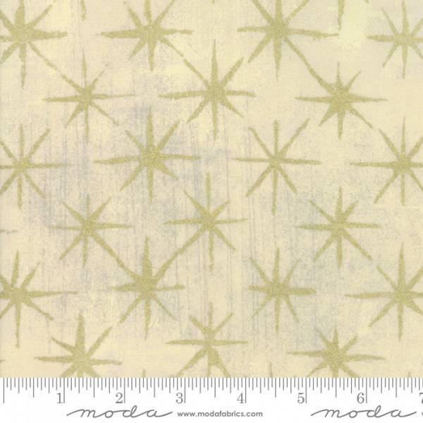 Bilde av 50 cm Grunge - Seeing Stars metallic - 3 cm gull stjerner på nat