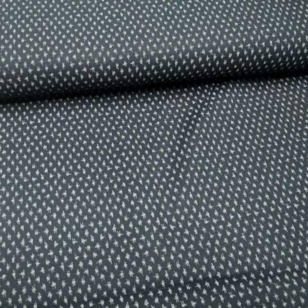 Bilde av Indigo Sashiko - mørk marine m 4 mm dots