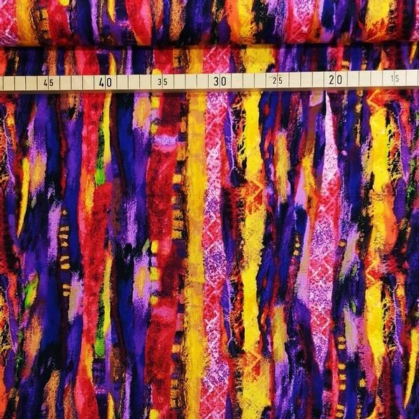 Bilde av Chasing The Rainbow - 20mm ujevne striper - lilla/gul