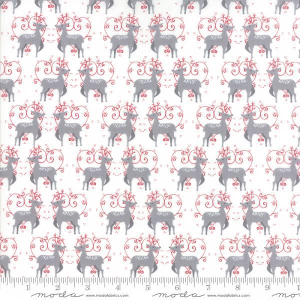 Bilde av Sno - 3 cm rensdyr på hvit