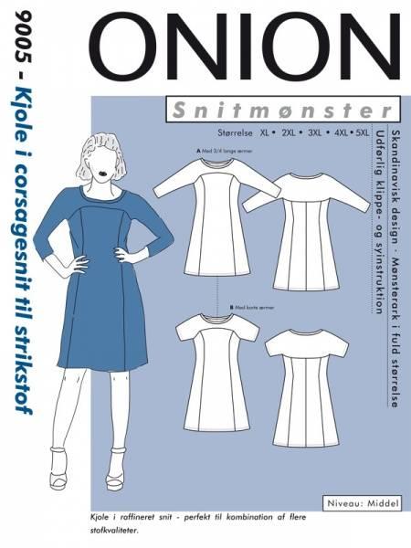 Bilde av Onion 9005 - kjole i corsagestil til stretch, pluss-størrelse