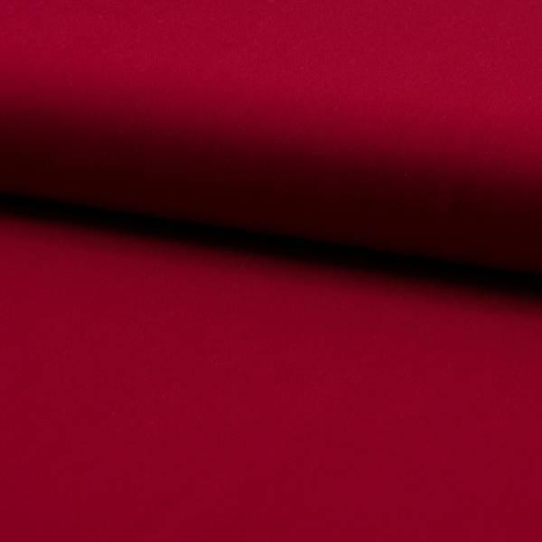 Bilde av Viskose twill ensfarget mørk rød