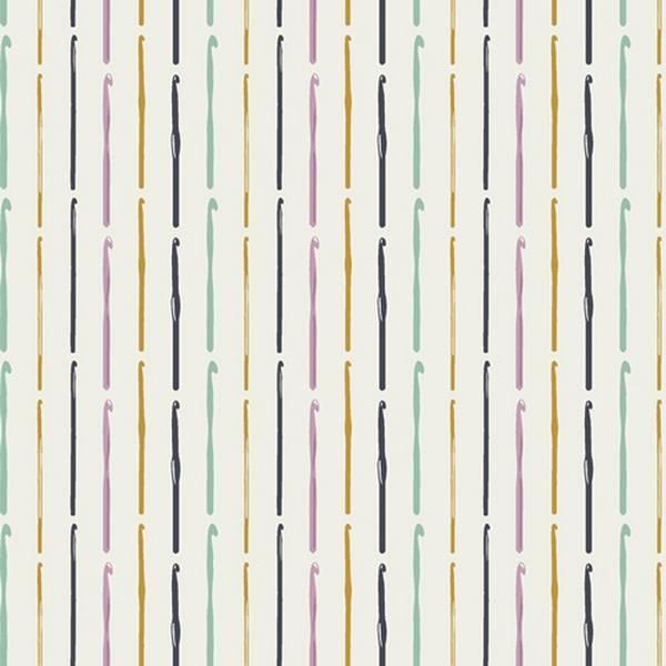 Bilde av Hooked - 5 cm heklepinner på offwhite