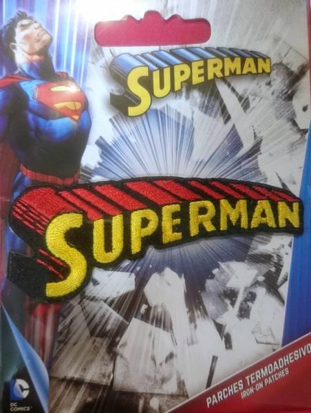 Bilde av Symerke med lim - 8 cm Superman skrift