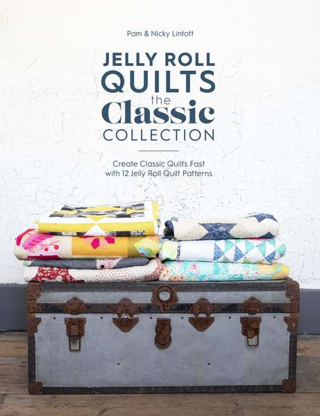 Bilde av Jelly Roll Quilts - the classic collection - bok