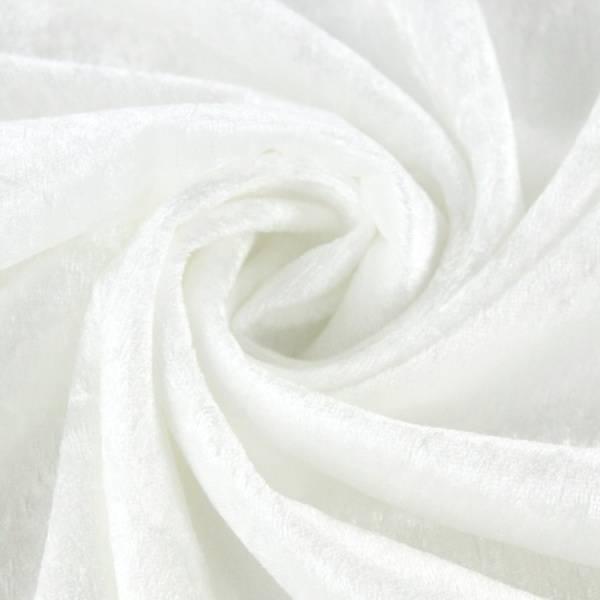 Bilde av 1,9 m Nervøs fløyel - hvit - litt flekkete
