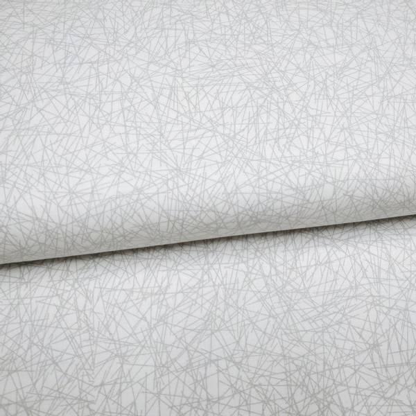 Bilde av 50cm Cream & Sugar IX - lysgrå streker på hvit