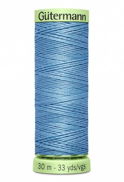 Bilde av Knapphullstråd - 30m - fv. 143 - kald blå