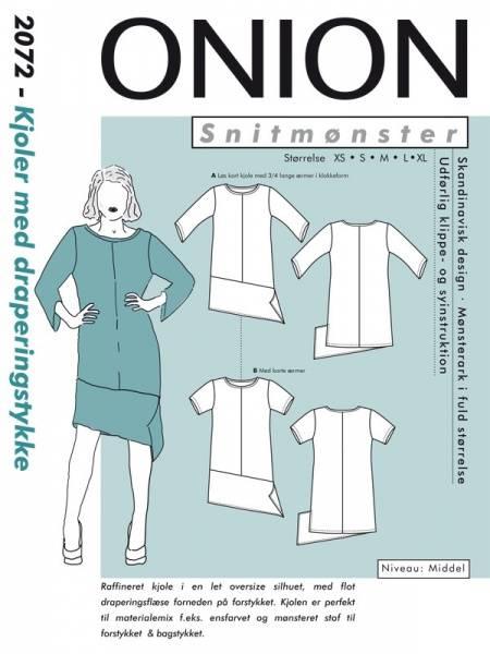 Bilde av Onion 2072 - Kjole med draperingsstykke