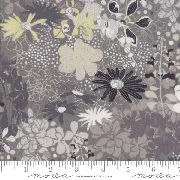 Bilde av Stiletto - 15-55 mm sort-grå-gule blomster