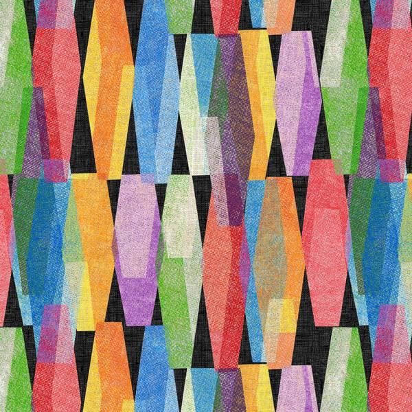 Bilde av Black Lava Lamp 108in Quilt Back, 12 cm mønster