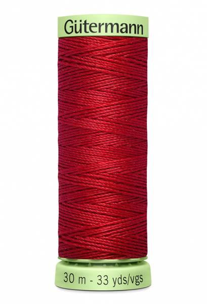 Bilde av Knapphullstråd - 30m - fv. 46 - mørk rød