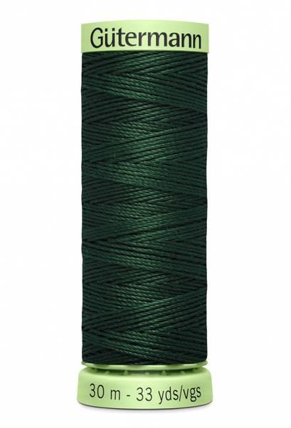 Bilde av Knapphullstråd - 30m - fv. 472 - mørk mosegrønn