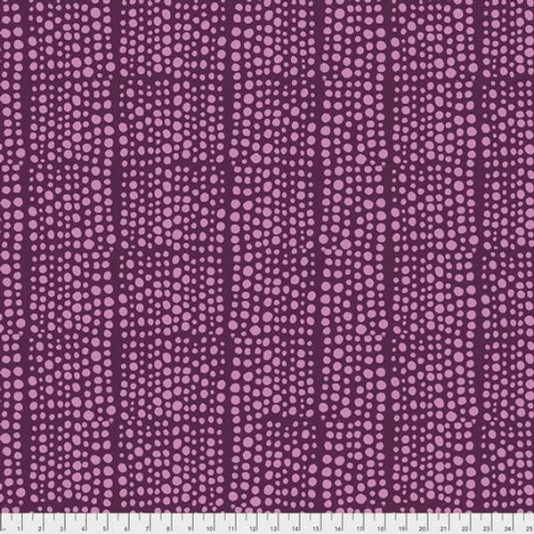 Bilde av Murmur 108in Quilt Back - 5-10 mm dots på lilla