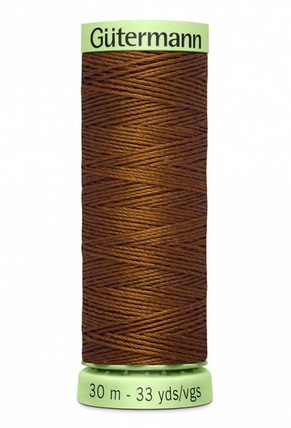 Bilde av Knapphullstråd - 30m - fv. 650 - varm mørk brun