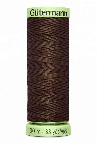 Bilde av Knapphullstråd - 30m - fv. 694 - varm mørk brun