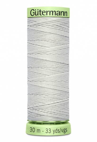 Bilde av Knapphullstråd - 30m - fv. 8 - lys sølvgrå