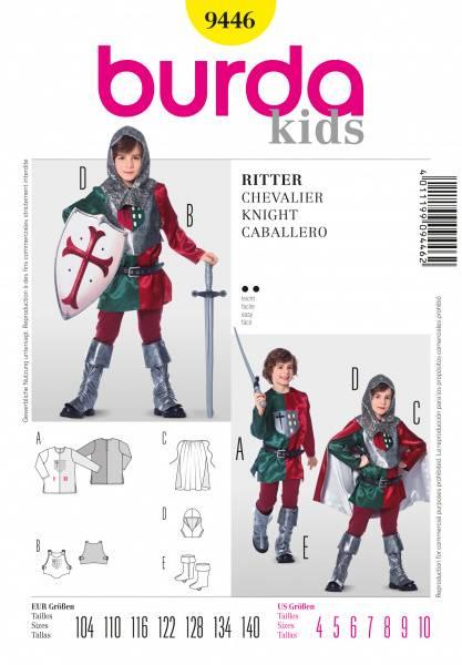 Bilde av 9446 - Burda - Ridder kostyme