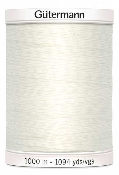Bilde av Sytråd Gütermann 1000 m polyester - 111 - egghvit