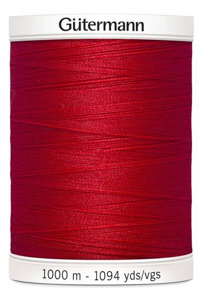 Bilde av Sytråd Gütermann 1000 m polyester - 156 - rød