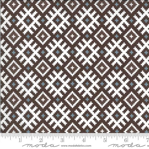 Bilde av Folktale - brun 3 cm aztekmønster