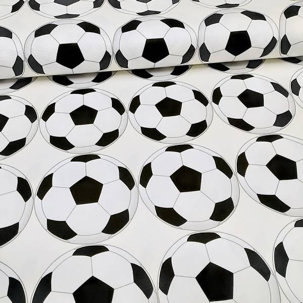 Bilde av Kraftig bomull - 12 cm fotball på offwhite