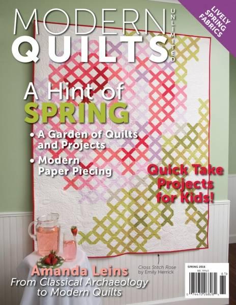 Bilde av Modern Quilts Unlimited - vår 2016