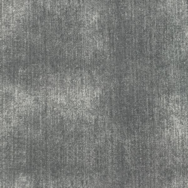 Bilde av Bomullsjersey - jeanstrykk - grå