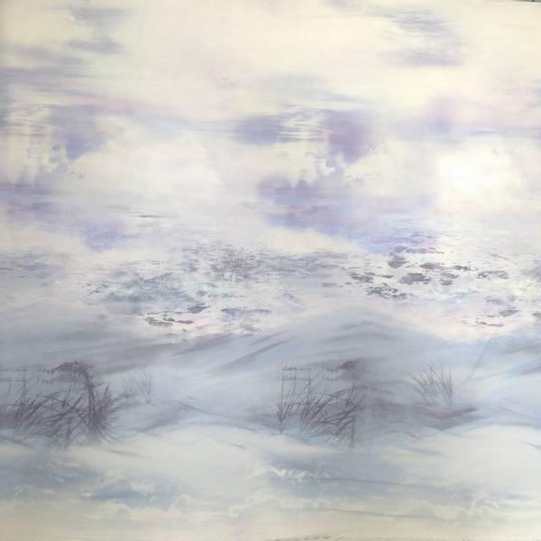Bilde av Sand in my Shoes - lys blå-lilla-grå landskap