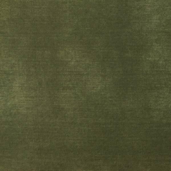 Bilde av Bomullsjersey - jeanstrykk - armygrønn