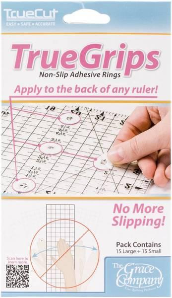 Bilde av True Grips - Non-slip gummiringer til linjaler - 2* 15 st.