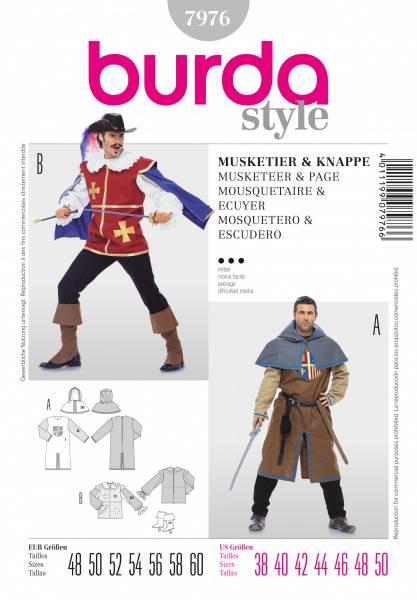 Bilde av 7976 - Burda - Musketier & ridder
