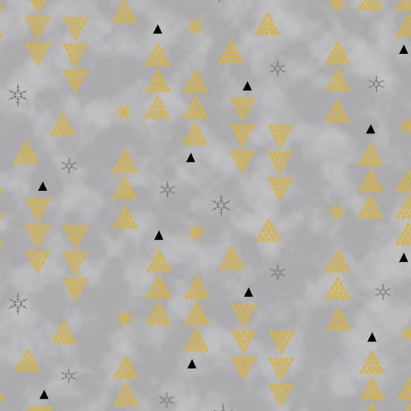 Bilde av Starlight - gull 1 cm trekanter på grå