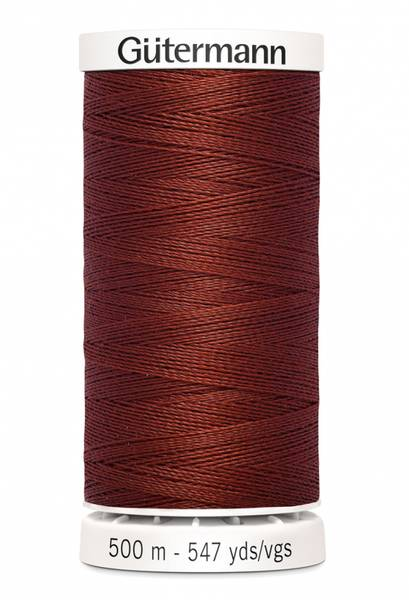 Bilde av Sytråd Gütermann 500 m polyester - 227 - rustrød