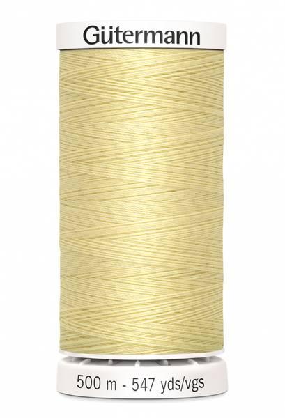 Bilde av Sytråd Gütermann 500 m polyester - 325 - lys gul
