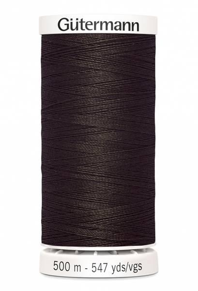Bilde av Sytråd Gütermann 500 m polyester - 696 - mørk brun