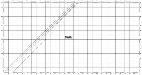 Bilde av Skjærematte 82*152 cm m. 5 cm-ruter