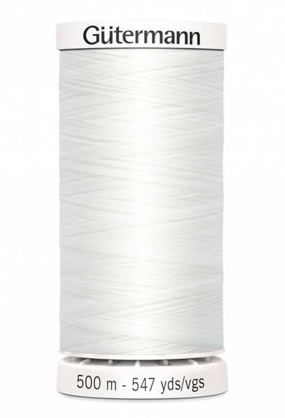 Bilde av Sytråd Gütermann 500 m polyester - 800 - hvit