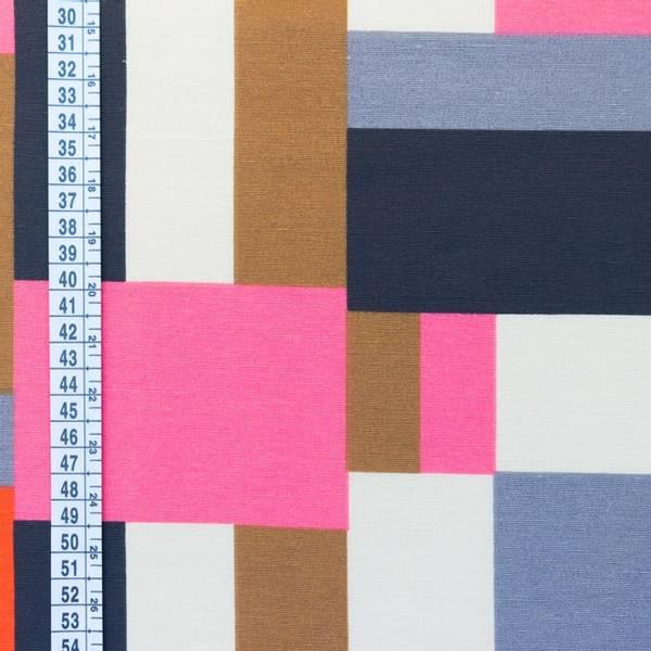 Bilde av Kanvas - flerfarget rutemønster