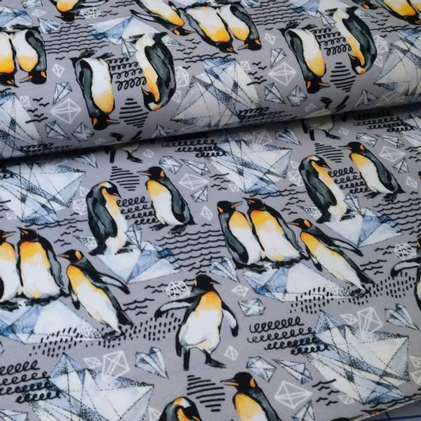 Bilde av French Terry - 7 cm pingvin på grå