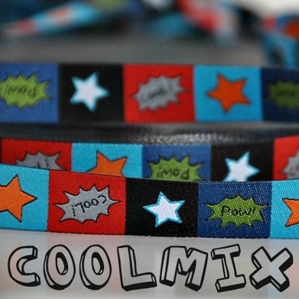 Bilde av 2 m Farbenmix - 15 mm bred bånd, Coolmix by jolijou