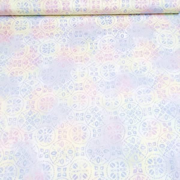 Bilde av Seashell - hvit blå rosa pastell 5-7 cm sirkler