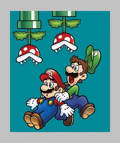 Bilde av Nintendo Super Mario - Panel 90*110 cm