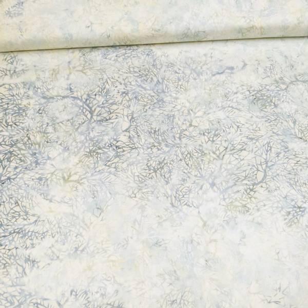 Bilde av Seashell - blågrå-vanilje kvistmønster
