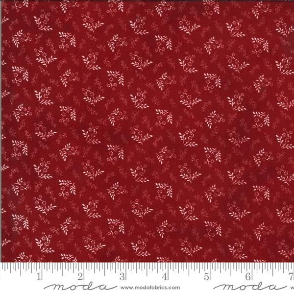 Bilde av American Gatherings - 1 cm offwhite rispe på rød