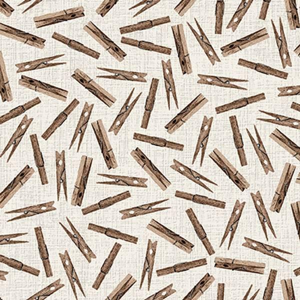 Bilde av Loads of fun - 25 mm klesklyper på lysgrå