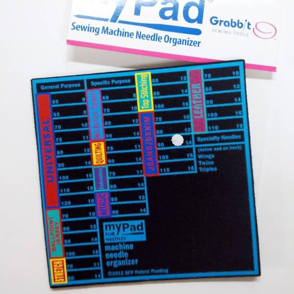 Bilde av Organizer for symaskinnåler - 17*17 cm tykk filt